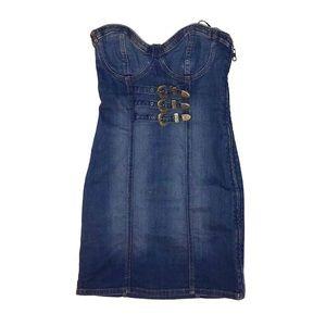 Guess denim dress size 2